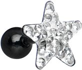 Body Candy 16 Gauge 10mm Star Cartilage Tragus Earring