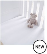 Silentnight Pack Of 2 Jersey Fitted Cot Bed Sheets