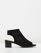 Spurr Adelma Block Heeled Booties