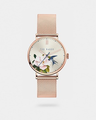 Ted Baker PHYLIE Milanese mesh band watch