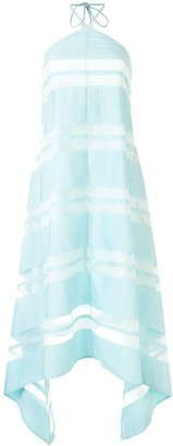 Cult Gaia Calla sheer panel detail dress