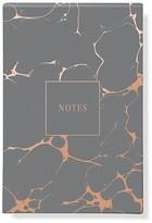 Fringe Gray Marble Notepad