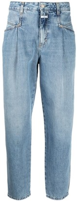 Closed High-Rise Tapered Organic Cotton Jeans