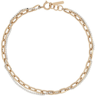 Justine Clenquet Gold Kirsten Necklace