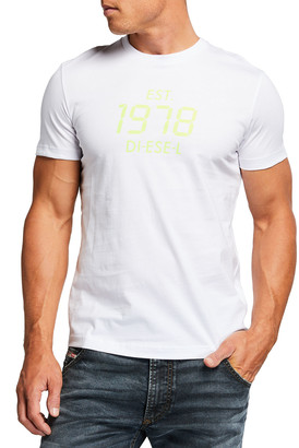 Diesel Men's T-Diegos-X42 1978 Logo Graphic T-Shirt