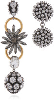 Marni Asymmetrical Earrings with Strass