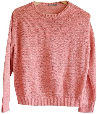 Cos Pink Cotton Top for Women