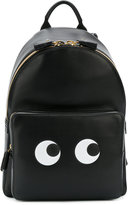 Anya Hindmarch Mini Eyes Right backpack - women - Leather/Bos Taurus - One Size
