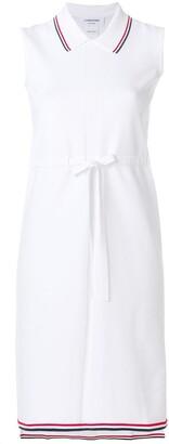 Thom Browne Signature Stripe Drawstring Dress