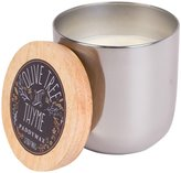 Paddywax Foundry Collection Silver Tin Candle - Olive Tree & Thyme - 12 oz