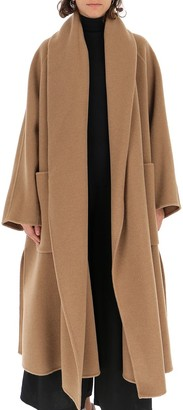 Max Mara Agave Long-Line Coat