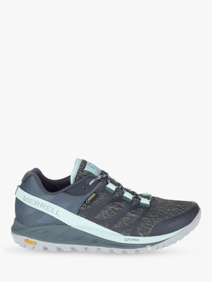 Merrell Antora Women's Waterproof Gore-Tex Trail Running Shoes, Turbulence