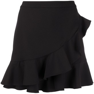 Boutique Moschino Frill Trim Shorts