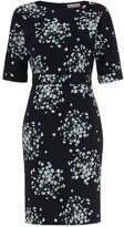 Phase Eight Madoline Ditsy Print Lace Trim Dress