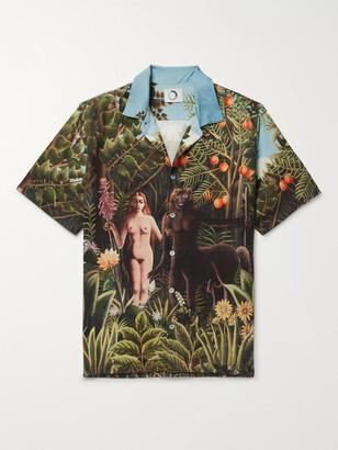 Endless Joy - Aloha Camp-Collar Printed Tencel Shirt - Men