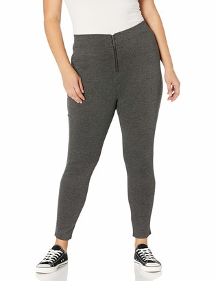 Forever 21 Women's Plus Size Zip-Front Leggings
