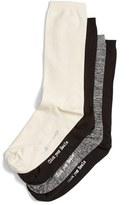 Hue Women's 'Body - Click Your Heels' Crew Socks