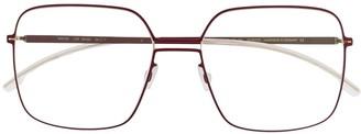 Mykita Velma square frame glasses