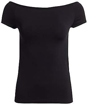 Helmut Lang Women's Seamless Jersey Off-The-Shoulder Top
