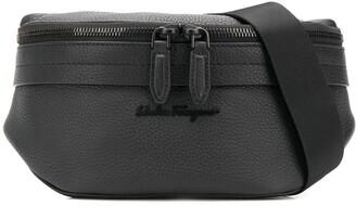 Salvatore Ferragamo Logo Front Belt Bag