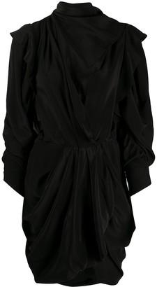 Isabel Marant Bruna draped mini dress
