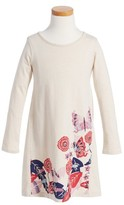 Tea Collection Toddler Girl's Mikan Graphic Dress