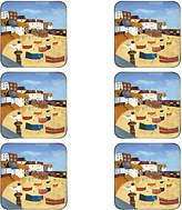 Pimpernel St Ives Windbreak Coasters, Set of 6