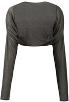 Aviu cashmere cropped cardigan - women - Cashmere - One Size