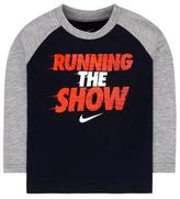 Nike Boys' 'Running The Show' Long-Sleeve T-Shirt