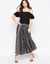 Liquorish Pleated Skirt