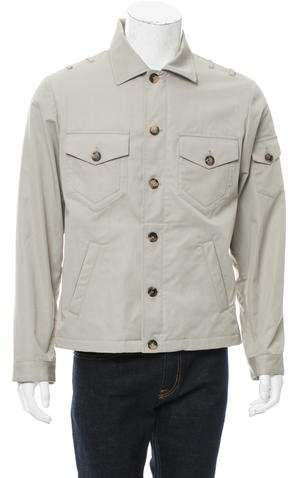 Michael Bastian Woven Military Jacket w/ Tags