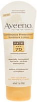 Aveeno Continuous Protection Sunblock Face Lotion (SPF 70) - 3 Oz