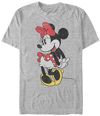 Fifth Sun Tee Shirts ATH - Minnie Mouse Athletic Heather Classic Tee - Adult