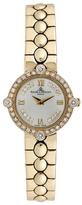 Baume & Mercier Vintage 14K Yellow Gold & 0.40 Total Ct. Diamond Watch, 22mm