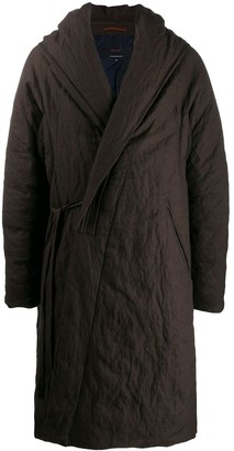Ziggy Chen Wrap Style Coat