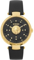 Thumbnail for your product : Versus By Versace Women's Moscova Black Leather Strap Watch 38mm