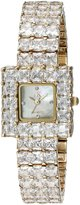 Adee Kaye Women's AK28N-LG Sparkle Analog Display Quartz Gold Watch
