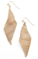 Jules Smith Designs Women's Mesh Wave Kite Earrings