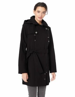 Steve Madden Women's Asymmetrical Softshell Jacket