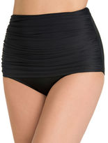 Miraclesuit Norma Jean Ruched High-Waisted Bikini Bottom