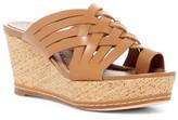 Donald J Pliner Flore Leather Wedge Sandal