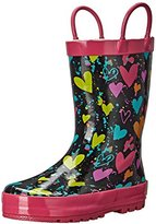 Western Chief Heart Splatter Rain Boot (Toddler/Little Kid/Big Kid)