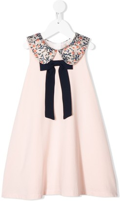 Hucklebones London Jersey Bow Detailed Dress