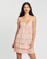 Miss Selfridge Rara Strappy Plisse Dress