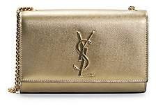 Saint Laurent Women's Small Kate Metallic Leather Shoulder Bag