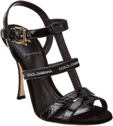 Dolce & Gabbana Keira Leather Sandal