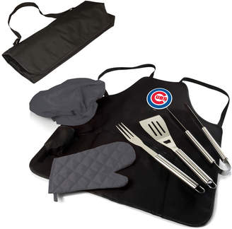 Picnic Time Chicago Cubs Mlb Bbq Apron/ Tote Set