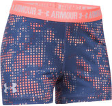"Under Armour HeatGear Armour Printed 3"" Shorts, Big Girls (7-16)"