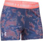 Under Armour HeatGearandreg; Armour Printed 3and#034; Shorts, Big Girls (7-16)