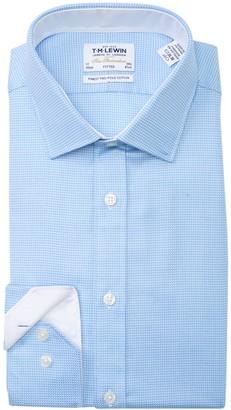 T.M.Lewin Arrow Twill Fitted Dress Shirt